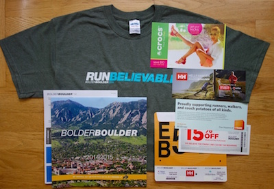 Bolder Boulder 10K package