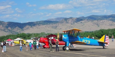 Boulder Airport Day