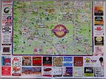 Boulder 観光地図
