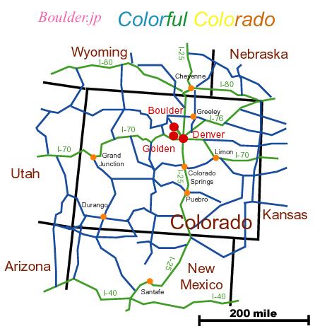Map CO Golden