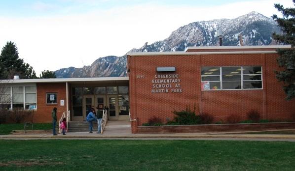 Creekside 小学校,ボルダー コロラド