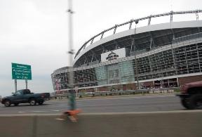 Denver Bronos Stadium