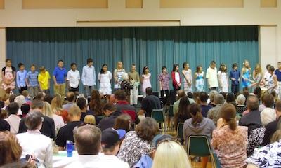 US Elementary School Gradiation