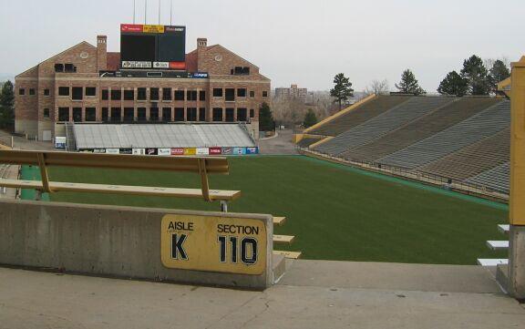 Folsom Field コロラド大学