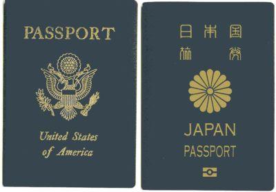 Passport アメリカと日本