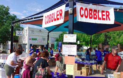 Lafayette Peach Festival Cobbler