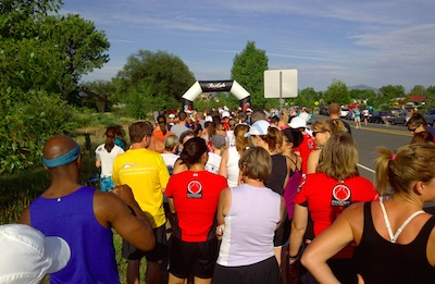 Recovery 6km run Louisville, CO