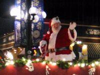 Boulder CHristmas Parade Santa