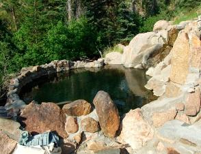 コロラドの温泉