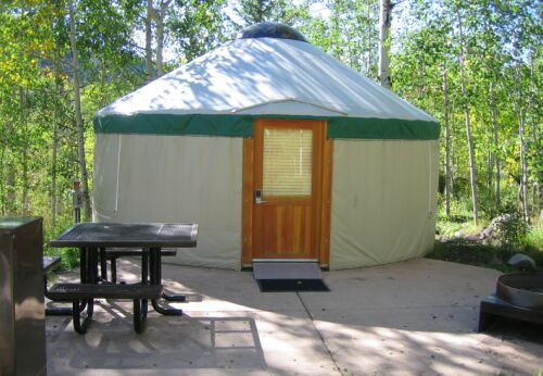 Colorado State Park Yurt