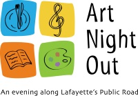 Art Night Out Lafayette, CO ロゴ