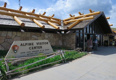 ロッキーマウンテン国立公園 アルペンビジターセンター