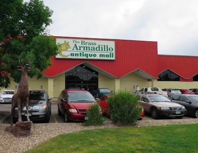 Armadillo Antique Mall アンティークショップ