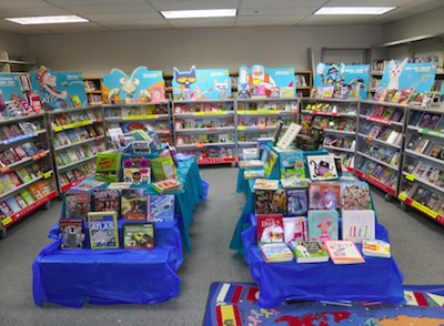 アメリカの小学校のブックフェア
