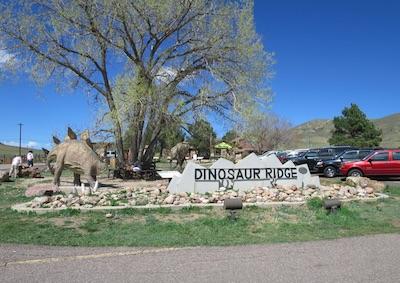 dinosaur ridge デンバー
