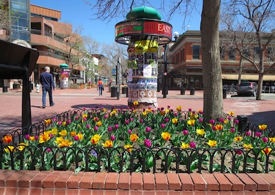 Downtown Boulder 4月