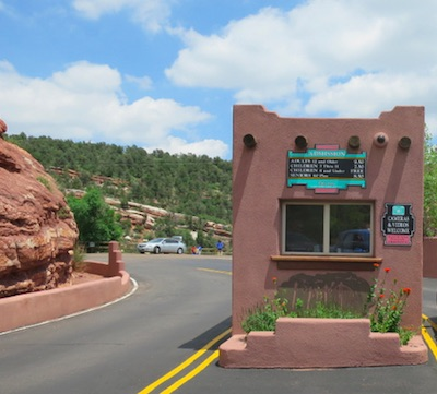 Manitou Cliff Dwellings ゲート
