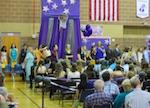 アメリカの中学校の卒業式