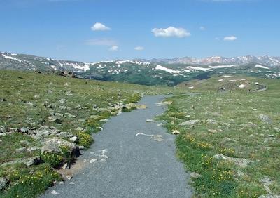 ロッキー山脈国立公園 トレイル