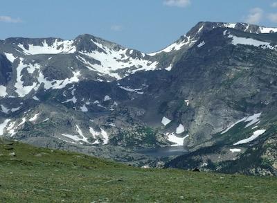 ロッキー山脈国立公園 山