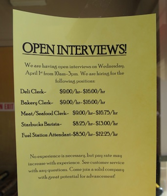 Safeway, Superior, Job Offer