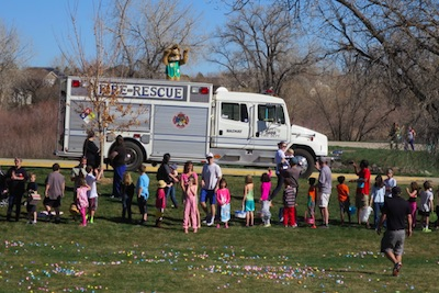 Waneka Lake Egg Hunt