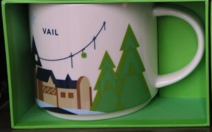 スターバックス デンバーのマグカップ Vail