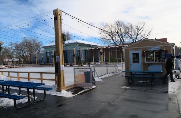 ボルダーのアイススケート場