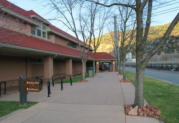 Glenwood Springs コロラド 温泉