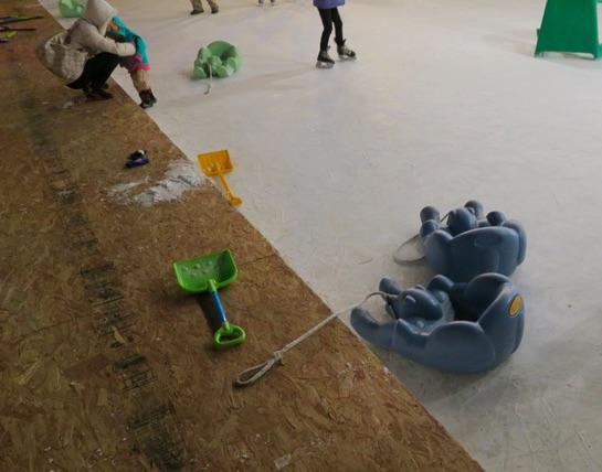 アメリカの屋外スケート場 Louisville, CO