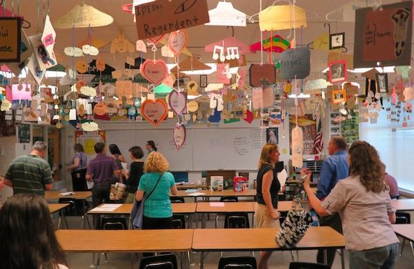 アメリカの高校2年生・授業
