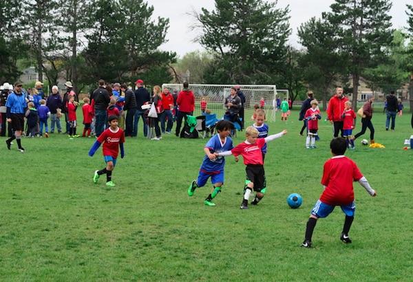 アメリカの Youth Soccer サッカー