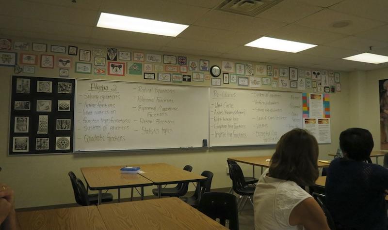 アメリカの高校・授業 高校3年生 Junior 11年生
