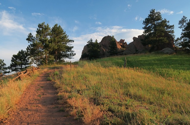 Red Rocks Trail, Boulder, CO