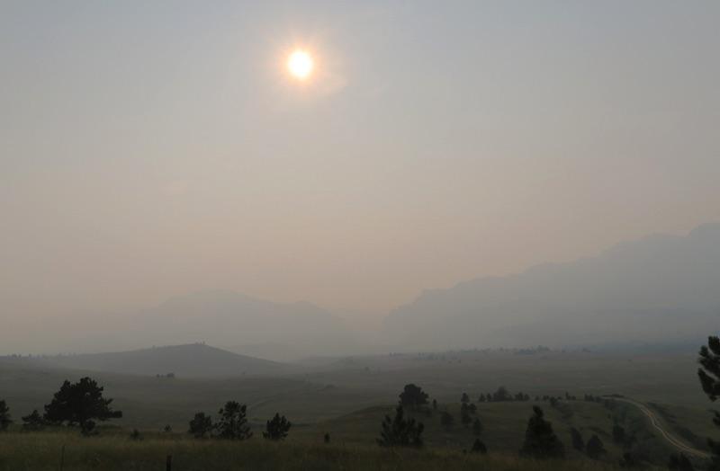 山火事の影響 ボルダー ゴールデン