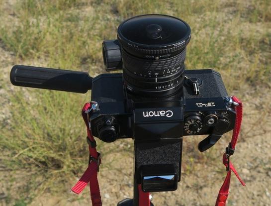 カメラ Canon F-1 全周魚眼レンズ