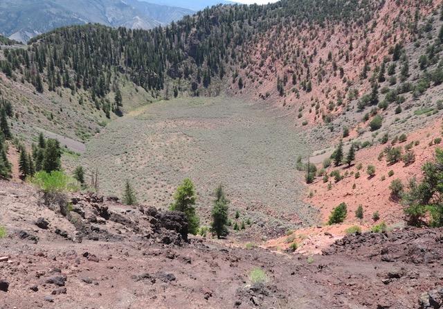Dotsero Crater, CO 火山噴火口