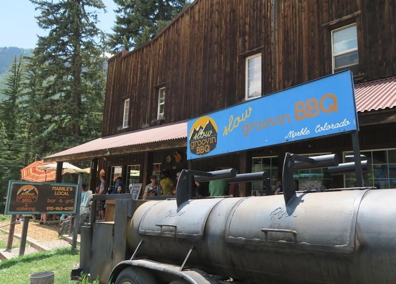 Marble, CO BBQ レストラン