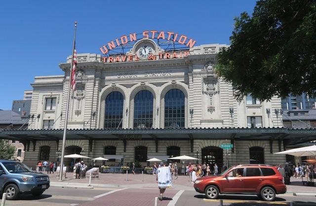 デンバー Uinon Station デンバー総領事館