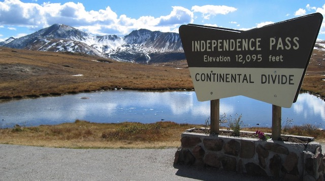 Independence Pass コロラド州