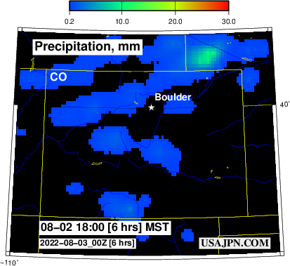 Colorado Precipitation Forecast